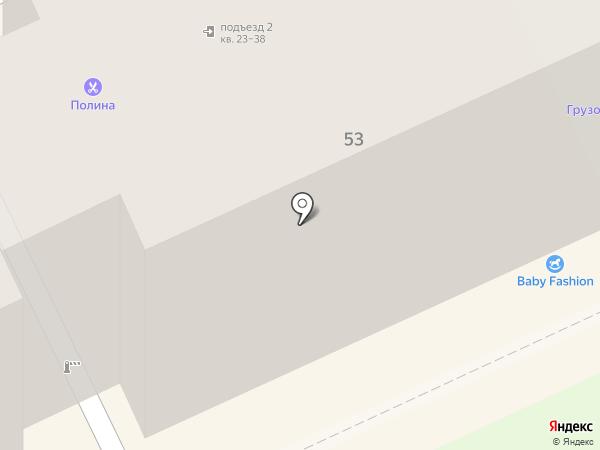 Непоседа на карте Перми
