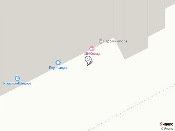 Сарс на карте Перми