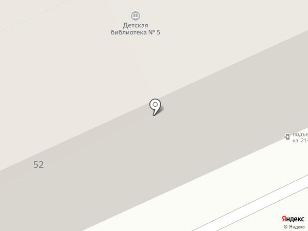 БУЛЬ-ВАР на карте Перми