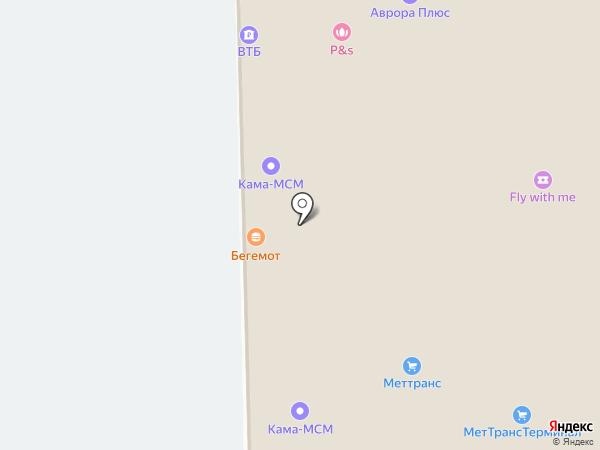 Халтек на карте Перми