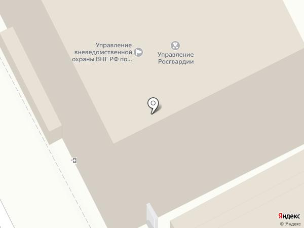 Управление вневедомственной охраны по г. Перми на карте Перми