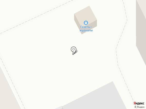 Киоск по продаже печатной продукции на карте Перми