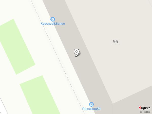 Xt на карте Перми