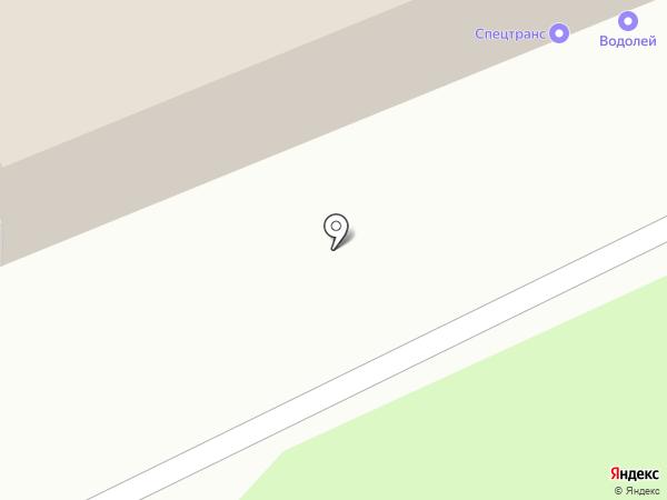 Гермес на карте Перми