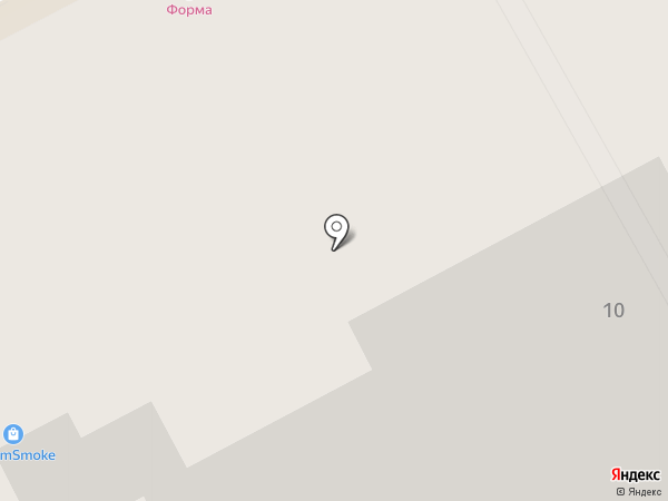 Неон Стрит на карте Перми