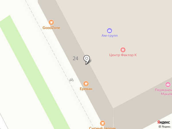 Адвокатские кабинеты Михалевой И.Д. и Мельникова А.М. на карте Перми