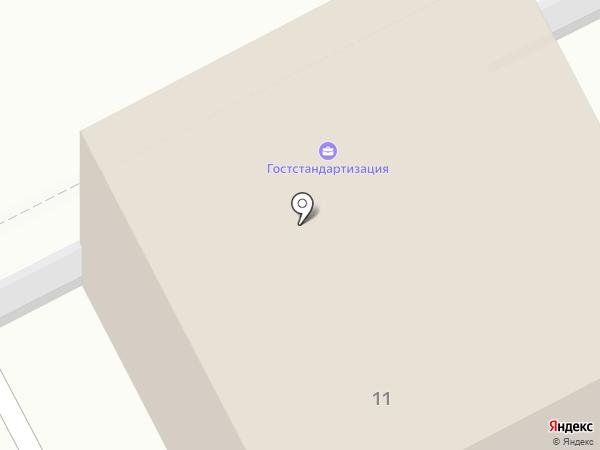 Аверс на карте Перми