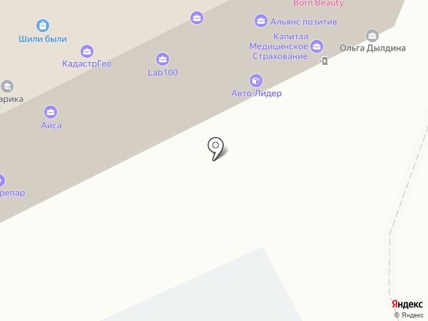 Макстор на карте Перми