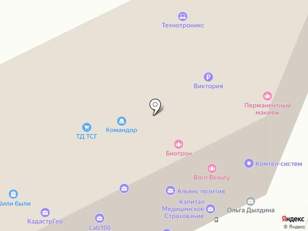 Авто-Лидер на карте Перми