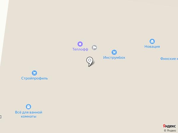 Территория кухни на карте Перми