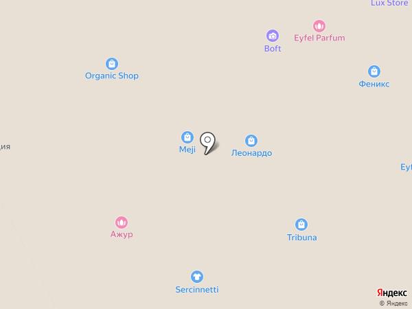 Леонардо на карте Перми