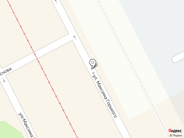 Магазин мясной продукции на карте Перми