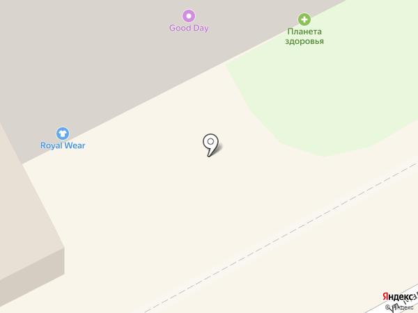 Галерея Табака на карте Перми