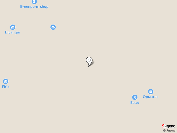 АРИСТО на карте Перми