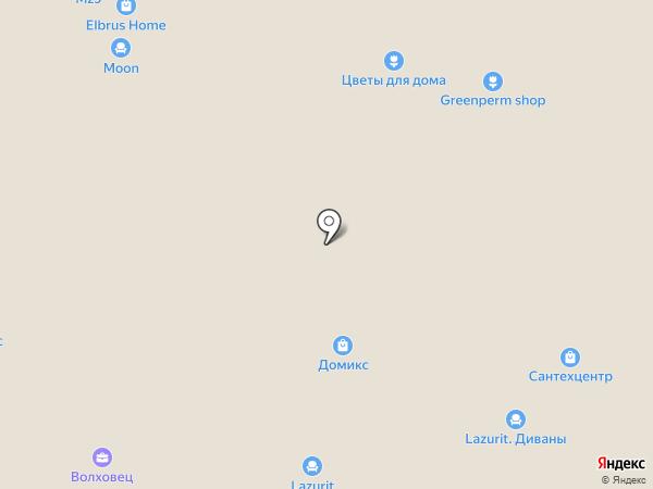 Аквафор на карте Перми