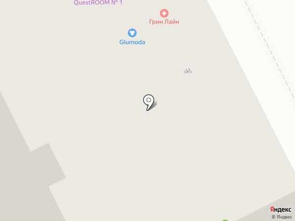 Квеструм №1 на карте Перми