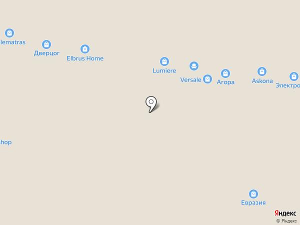 Делюкс Интерьер на карте Перми