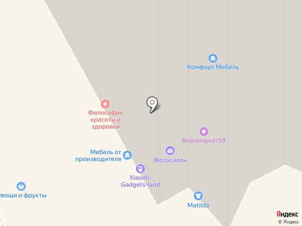 Всё на карте Перми