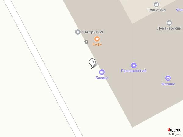 Компания Интермет на карте Перми