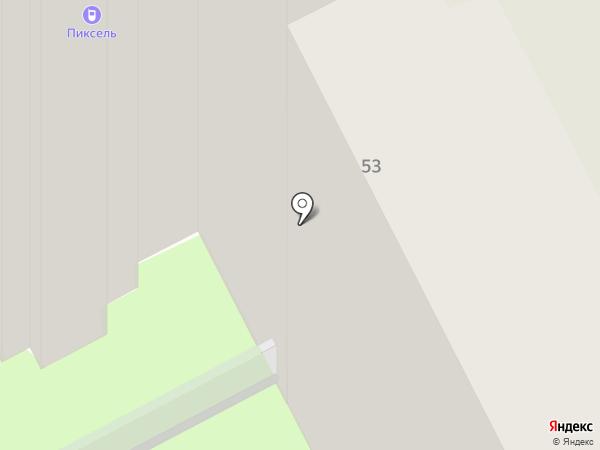 Генпроф на карте Перми