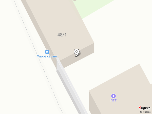 FLORA SERVICE на карте Перми