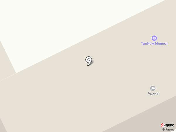 Топком Финанс на карте Перми