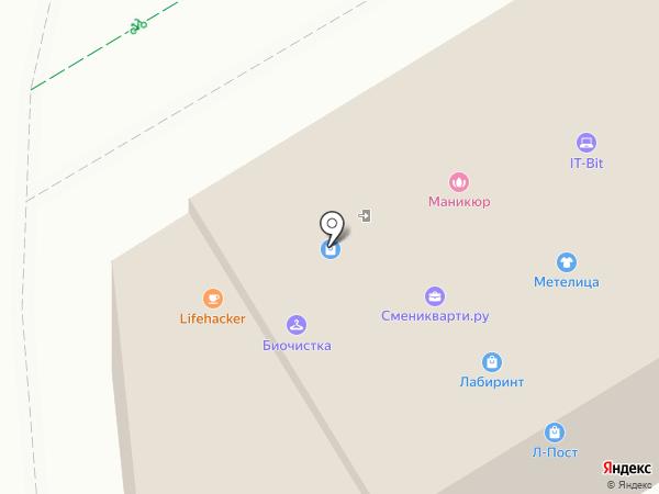 Ирида на карте Перми
