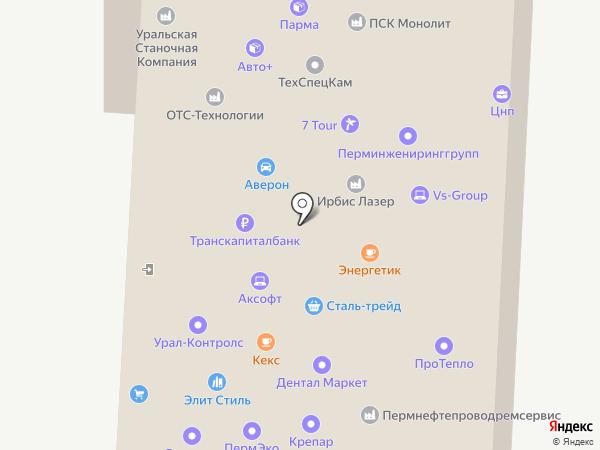МосЛимит-Трейд на карте Перми
