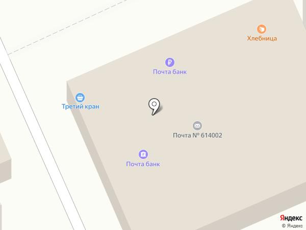 Зенит на карте Перми
