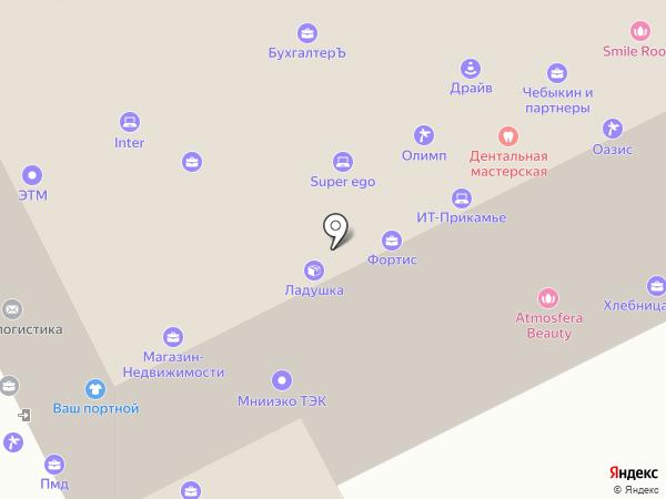 Пегас на карте Перми