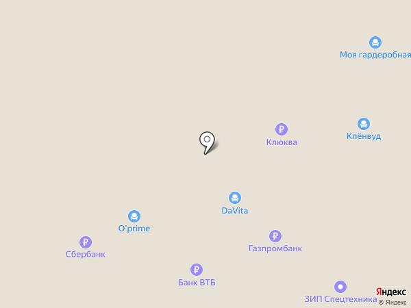 Магазин мебели на карте Перми