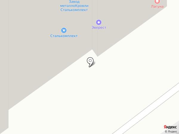 LAGUNA на карте Перми