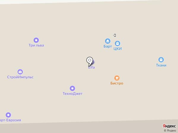 КитМаркет на карте Перми
