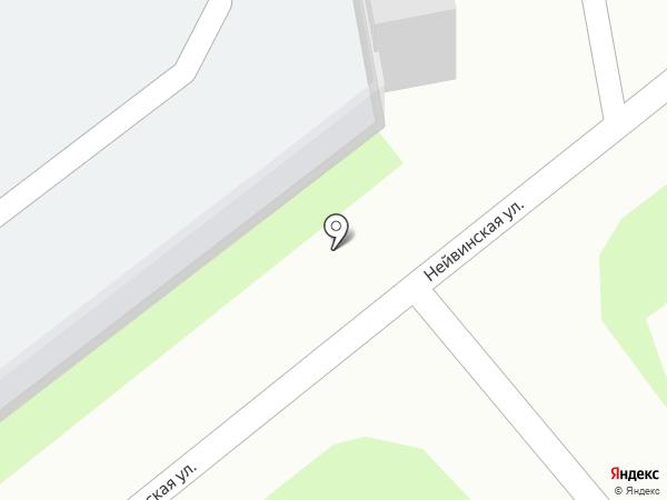 КЭП на карте Перми