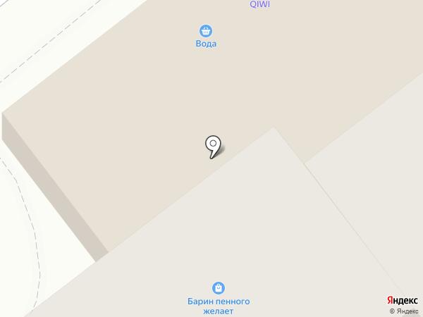 БАРИН пенного желает на карте Перми