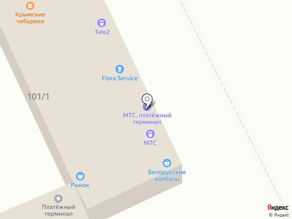 Нытвенский на карте Перми