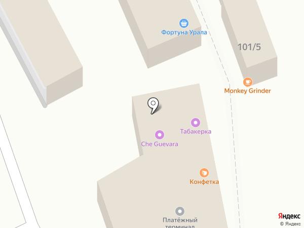 Элика на карте Перми