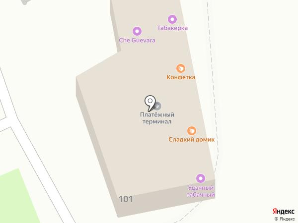 Табакерка на карте Перми