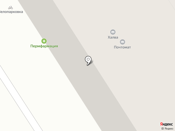 Монитрон на карте Перми