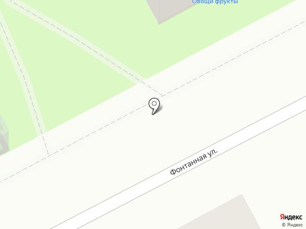 Фруктовый двор на карте Перми