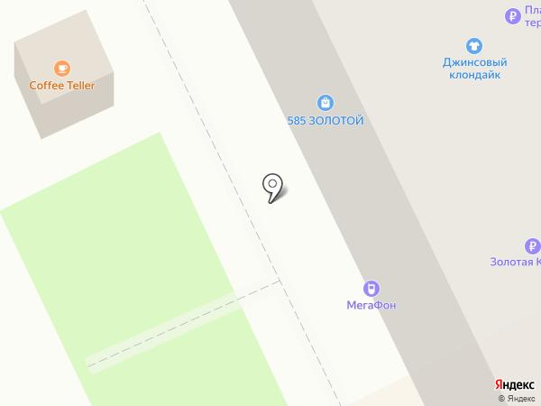 Магазин подарков на карте Перми