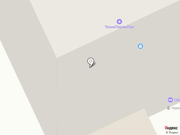 Бизнес интернэшнл на карте Перми
