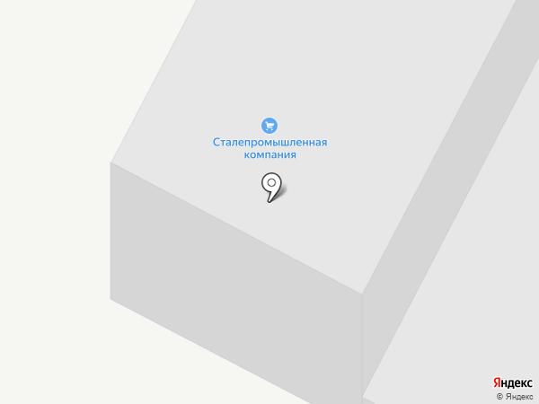 Сталепромышленная компания на карте Перми