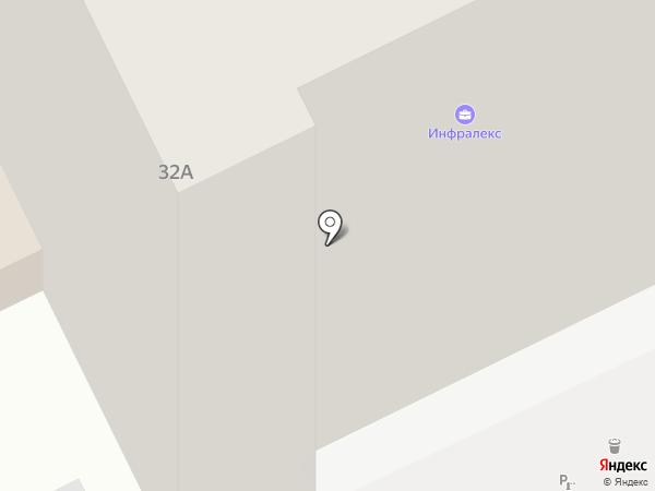 Амега на карте Перми