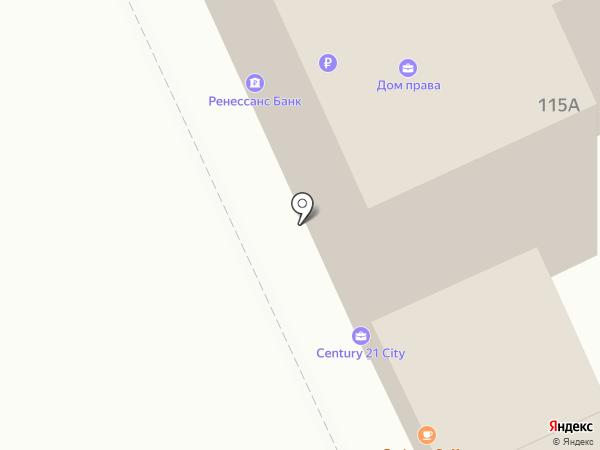Ренессанс Кредит на карте Перми