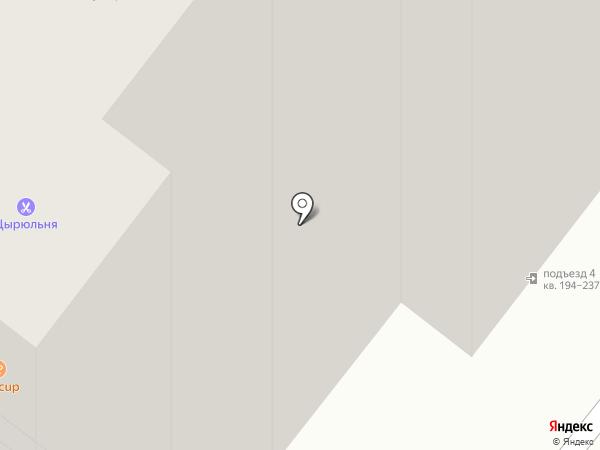 Антошка на карте Перми