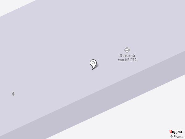 Детский сад №13 на карте Перми