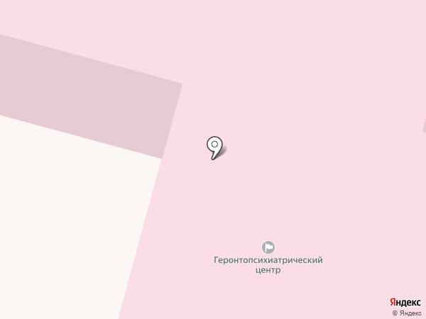 Пермский геронтопсихиатрический центр на карте Перми