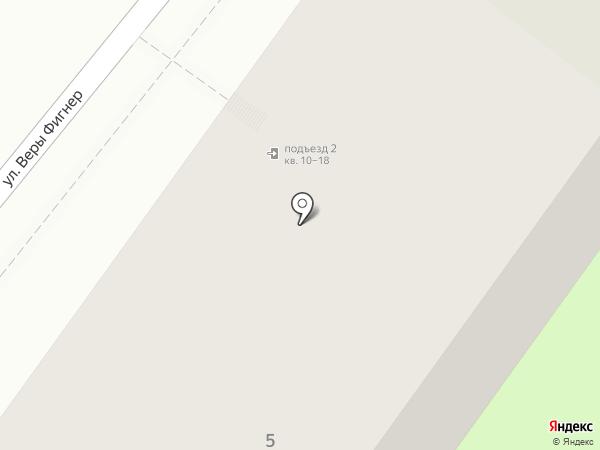 Непосредственное управление многоквартирным домом на карте Перми