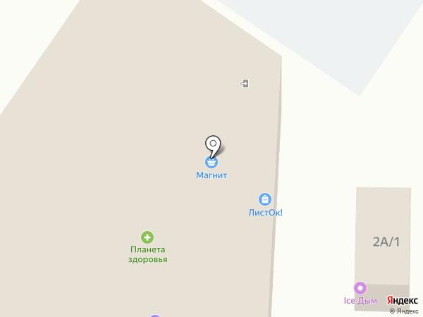 Волчок на карте Лобаново